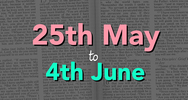 25th May to 4th June
