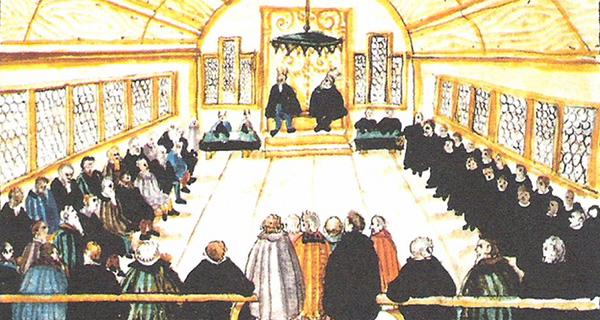 Meeting in Switzerland in 1525, the origins of Anabaptism