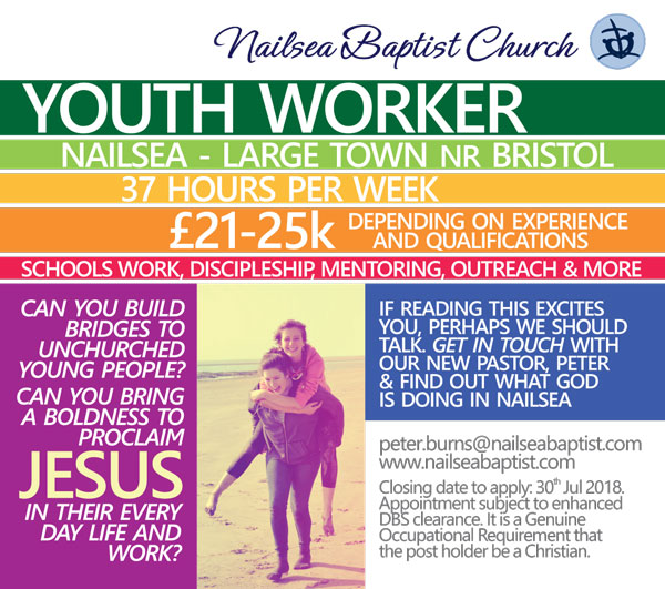West of England Baptist Association | Job Opportunity at Nailsea