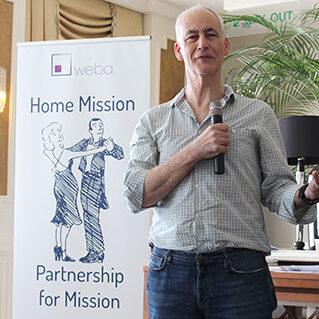Nigel Coles as Home Mission Ambassador